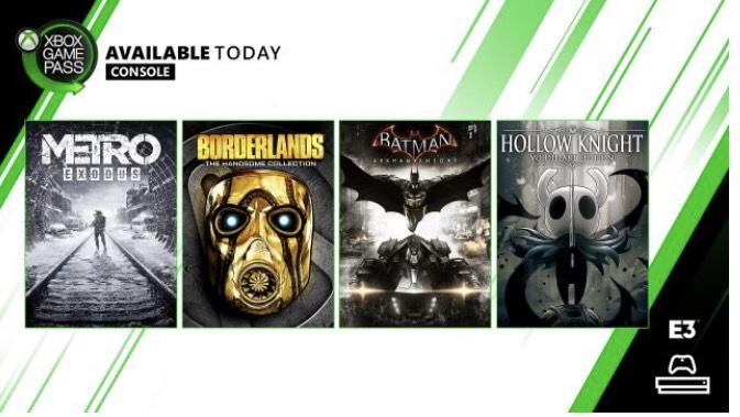 Xbox Game Pass:Borderlands: The Handsome Collection und mehr im Abo