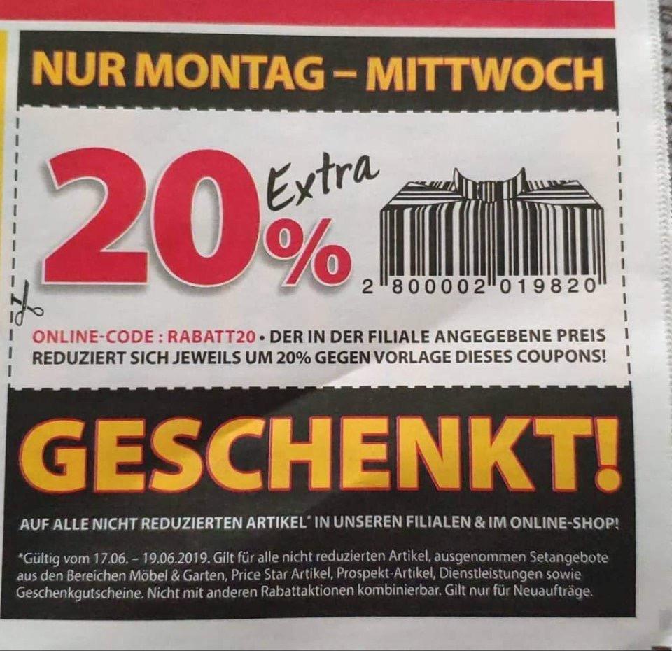 (Dänisches Bettenlager) 20% extra geschenkt