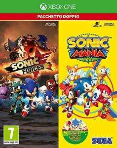 Sonic Mania Plus + Sonic Forces Doppelpack (Xbox One) für 27,88€ (Amazon IT)