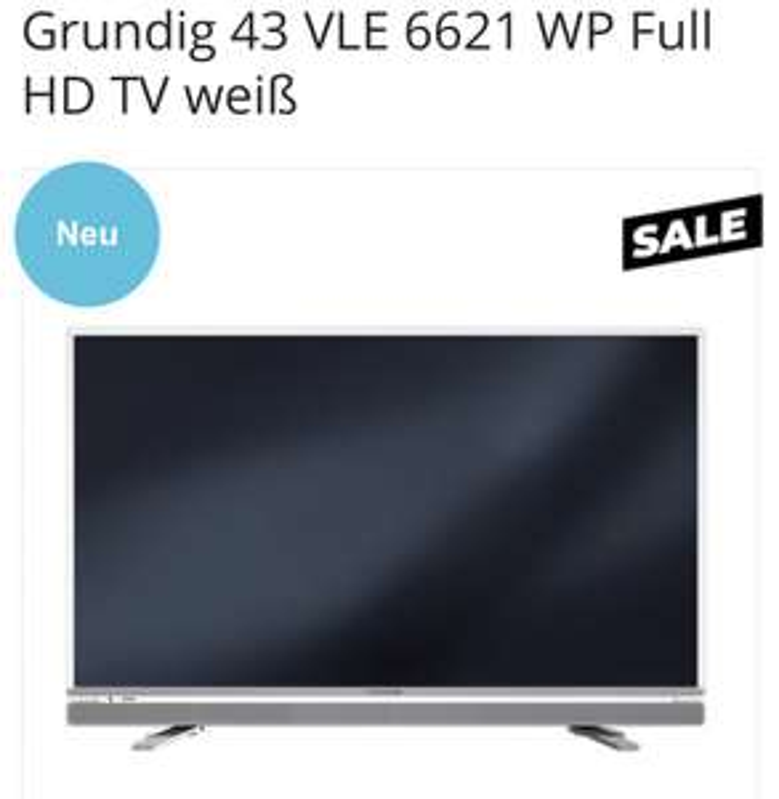 Grundig 43 VLE 6621 WP