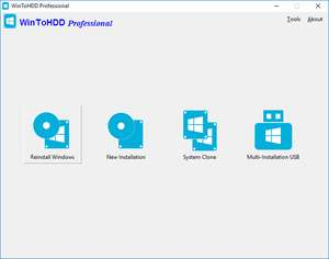 WinToHDD Professional - Kostenlose Software