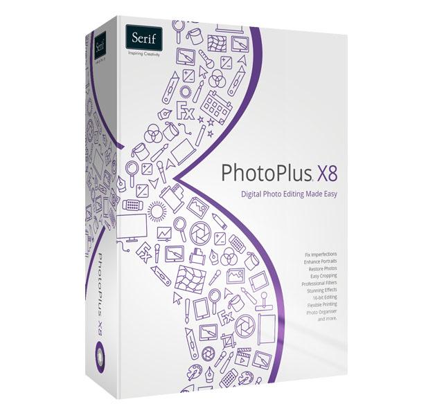 Serif PhotoPlus X8 - Grafik Software Vollversion Kostenlos