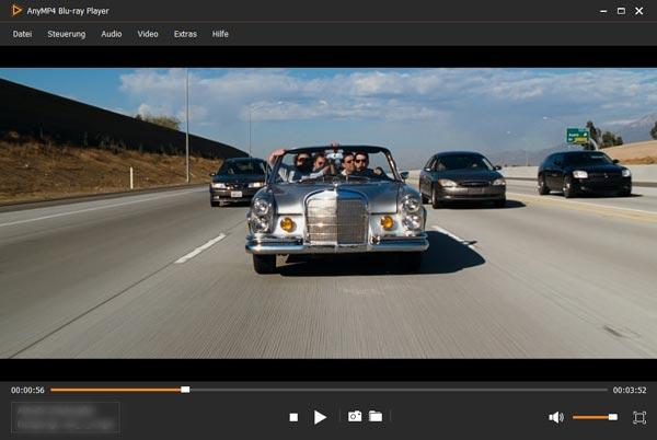 AnyMP4 Blu-ray Player - Kostenlose Vollversion