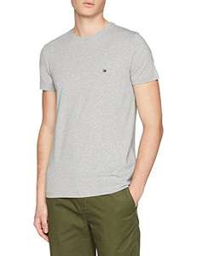 Tommy Hilfiger Herren T-Shirt grau SLIM FIT