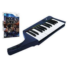 Rock Band 3 Bundle Software + Wireless Keyboard (WIi) @Amazon Warehousedeals