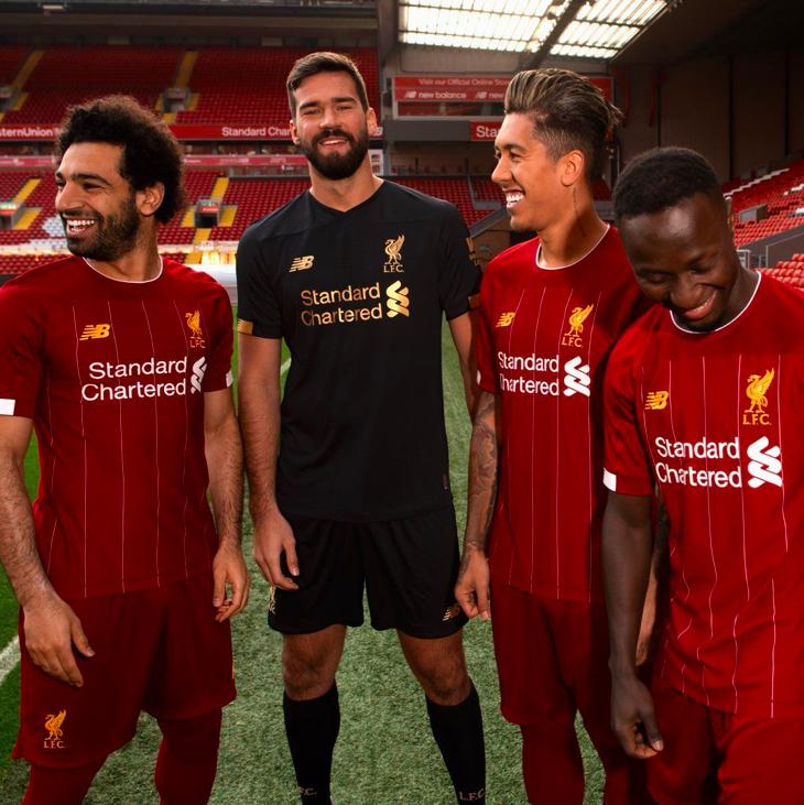 New Balance Liverpool FC Herren Heimtrikot 2019/20 (Gr. S - XL)