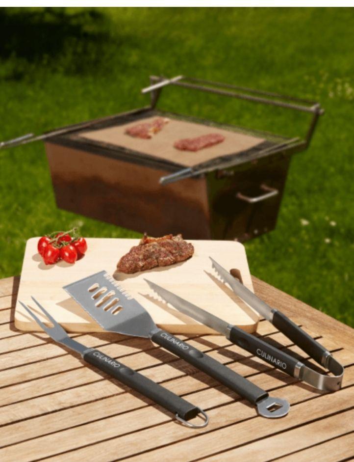[Media Markt] Culinario 051438 Grillbesteck 3-tlg.
