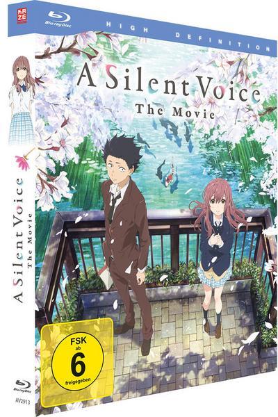 A Silent Voice [Blu-ray] Deluxe Edition für 8,97€ [bol.de]