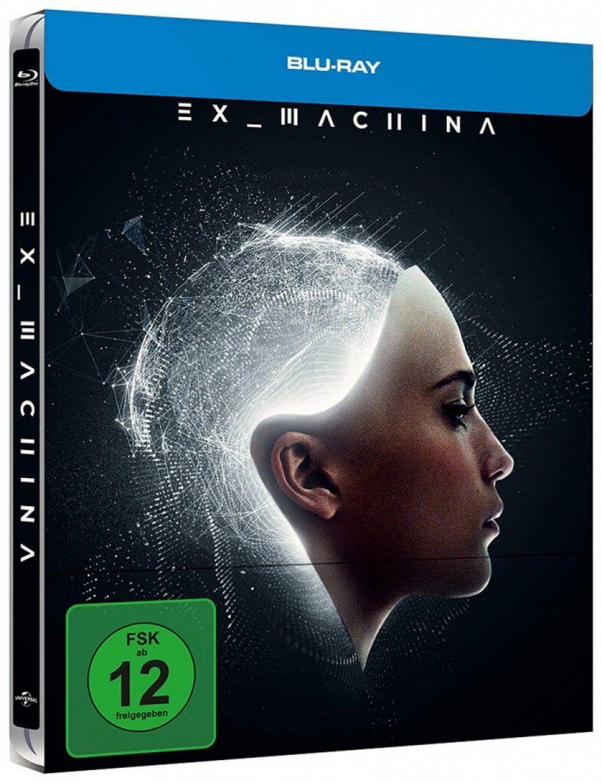 [funreel | ebay] Ex Machina (Blu-ray Steelbook) für 8,13€ inkl. Versand