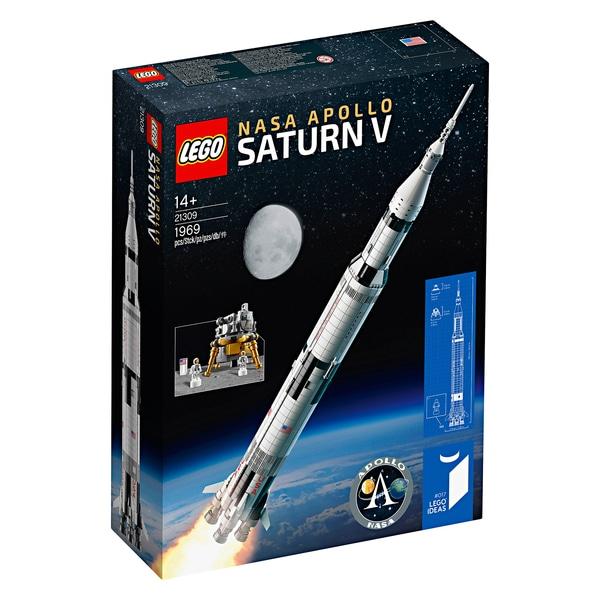 LEGO 21309 NASA Apollo Saturn V (nur noch Lokal)