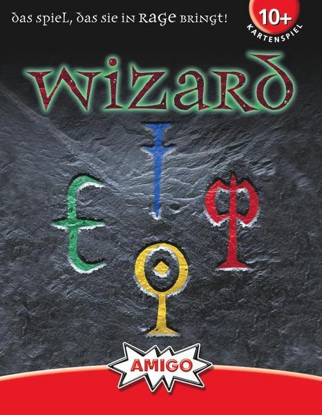 Kartenspiel Wizard für 3,99 [Thalia]