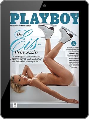 Playboy Abo (12 digital Ausgaben) für 60 € + 50 € Verrechnungsscheck