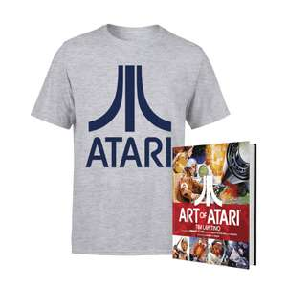 Atari T-Shirt + Art of Atari Buch Paket für 16,84€ inkl. Versand (Zavvi)