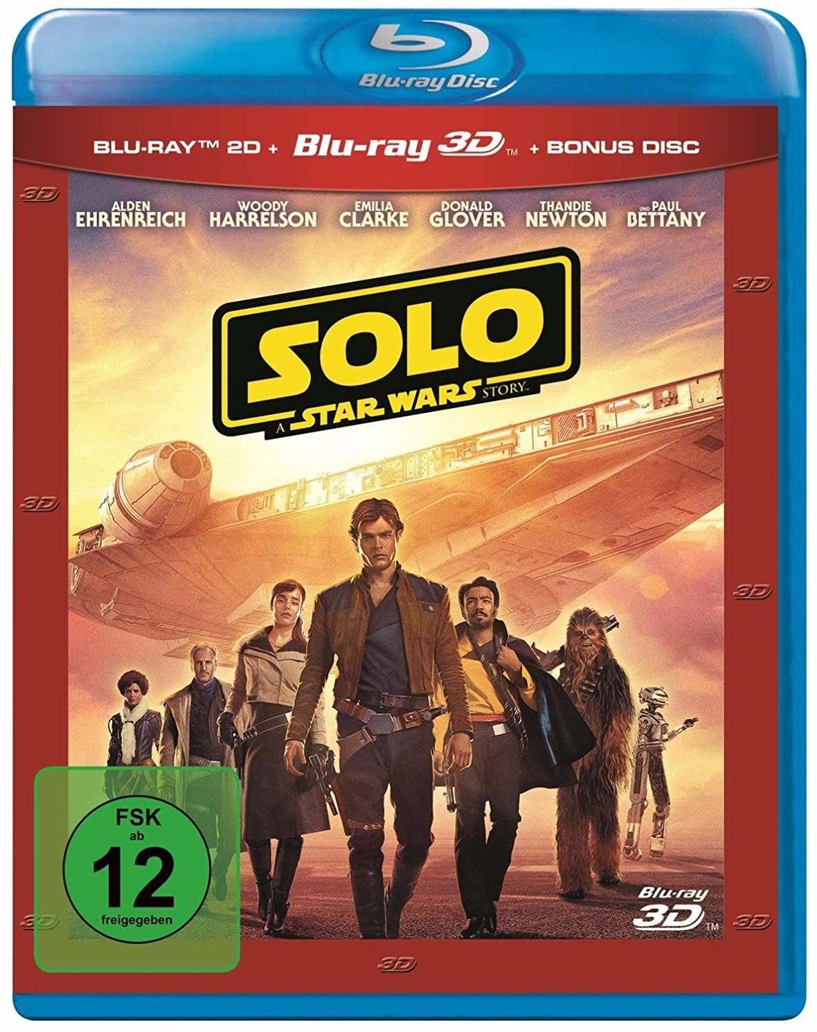 Solo: A Star Wars Story Abenteuer (3D Blu-ray) für 99 Cent für Österreicher & 10,99€ inkl. Versand nach DE (Media Markt AT)