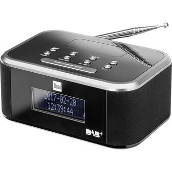 Digitalradiowecker Dual DAB CR 28  (DAB+, UKW, AUX, 20 Senderspeicher, 2 Weckzeiten, Display, 2x 0.8W)