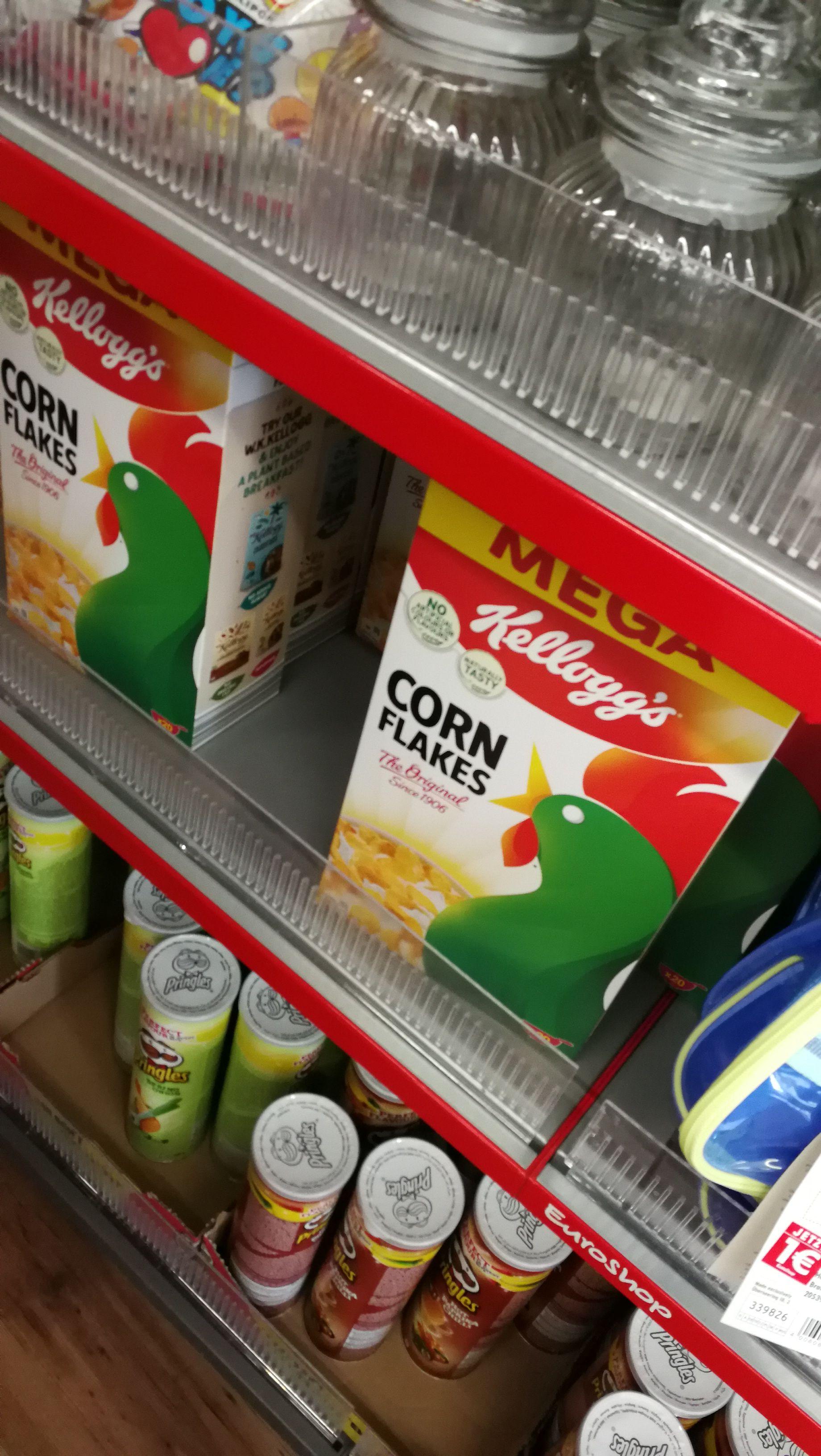 (Lokal Schums Euro-Shop Osnabrück??? eventuell bundesweit) 600g Kellogg's Corn Flakes Classic für 1€