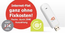 BASE 24 Monate Internet Flat inkl.Surfstick für 22,90€ @Logitel