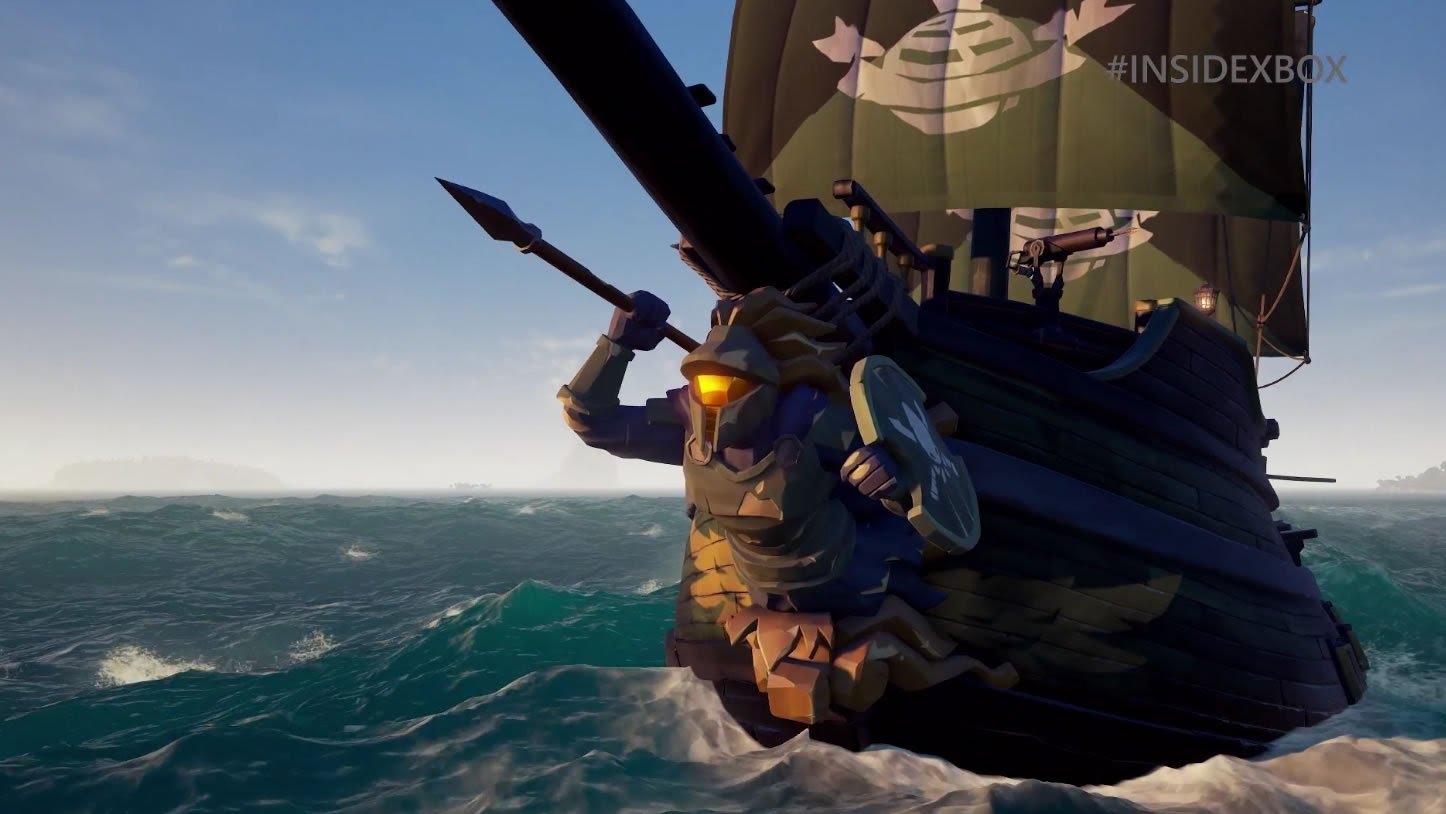 Xbox / PC Sea of Thieves / Halo Spartan Ship Set kostenlos