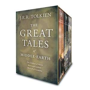 Amazon.com: J. R. R. Tolkien, The Great Tales of Middle-earth: Children of Húrin, Beren and Lúthien, and The Fall of Gondolin