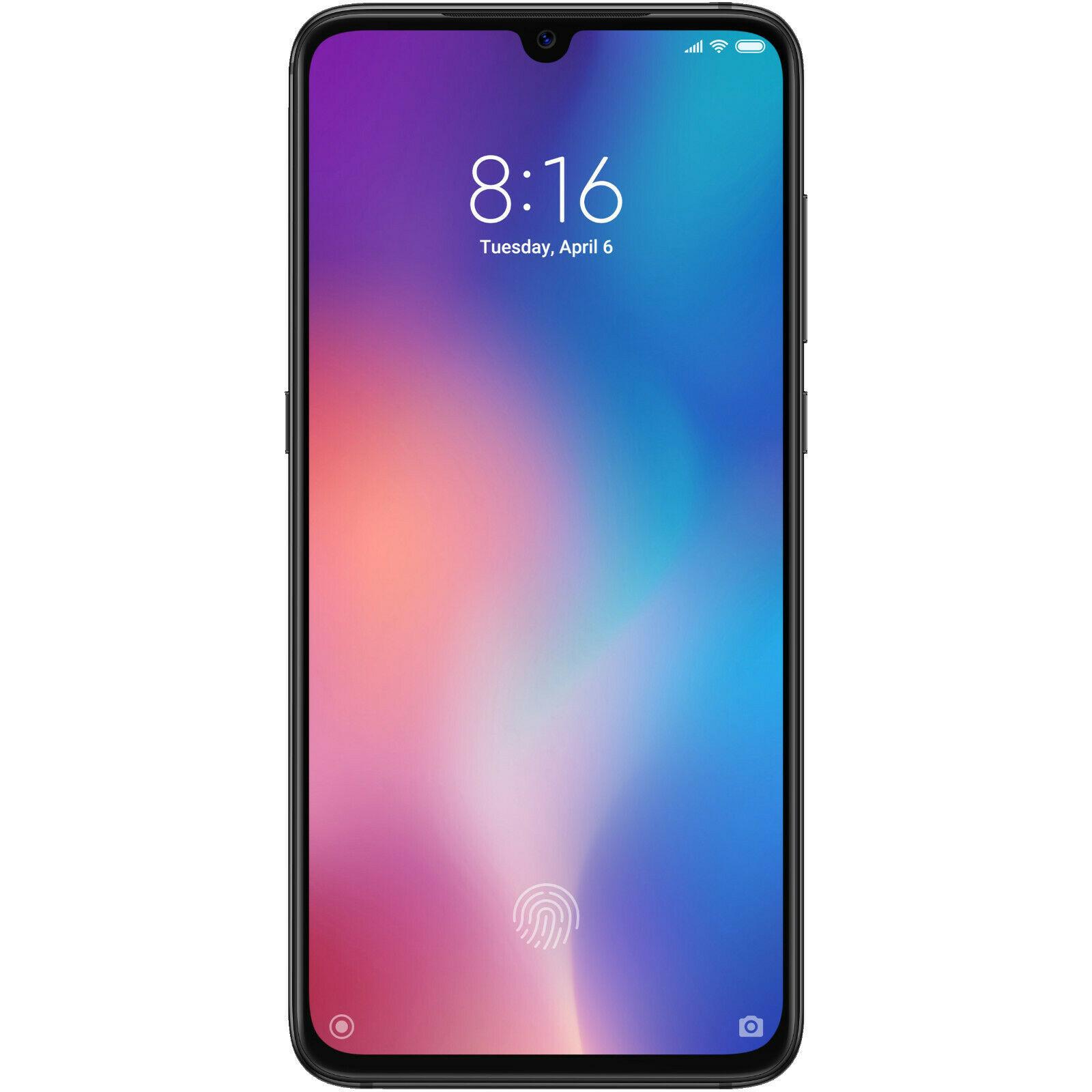 XIAOMI MI 9, Smartphone, 64 GB, Schwarz, Dual SIM