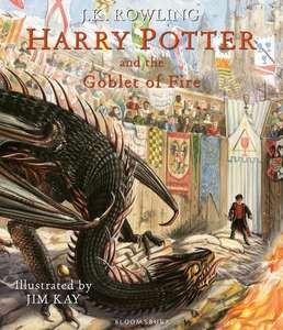 [Englisch] Harry Potter and the Goblet of Fire. Illustrated Edition (Vorbestellung) und Band 1-3