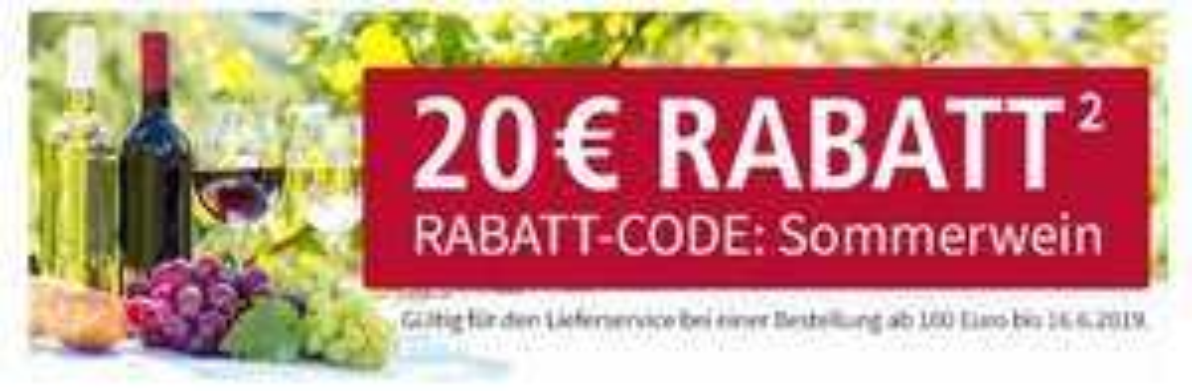 Real Lebensmittelshop 20€ Rabatt ab 100€ Bestellwert