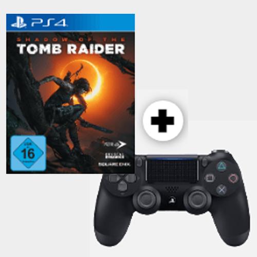 Shadow of the Tomb Raider (PS4) + PlayStation 4 Wireless Dualshock 4 Controller im Bundle für 52€ [MediaMarkt]