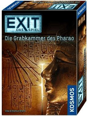 Kosmos EXIT - Das Spiel/Grabkammer des Pharao Brettspiel & Das geheime Labor Brettspiel für je 5€ (Media Markt)