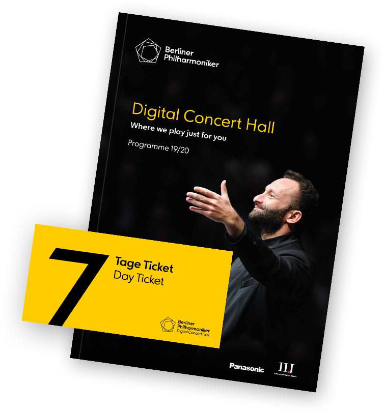 Kostenloses 7-Tage-Ticket zur Digital Concert Hall der Berliner Philharmoniker