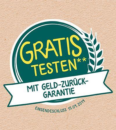 GRATIS testen 100% Cashback auf Milupa Milch-und Getreidebrei [GZG]