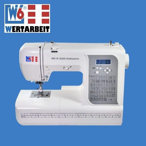 W6 Wertarbeit Nähmaschine N 2000 Exklusive