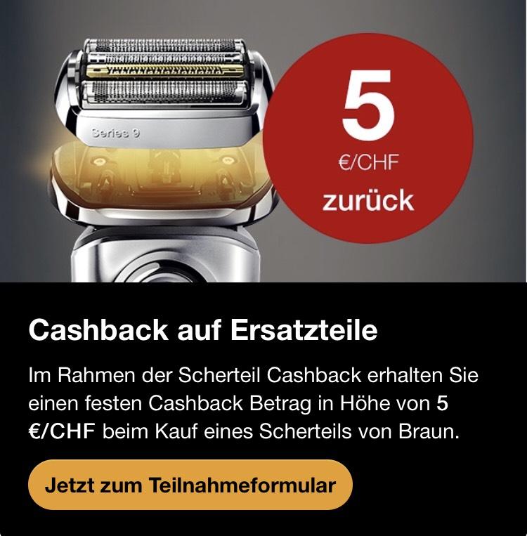 Braun Scherteil Cashback