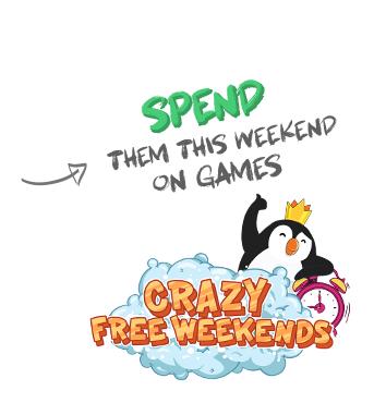 Free Ninja Krowns + Crazy Free Weekend(s?)