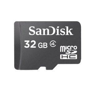 SanDisk Micro SDHC 32GB Class 4 Speicherkarte für 16,69 €
