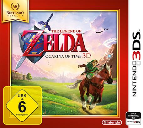 The Legend of Zelda: Ocarina of Time 3D (3DS) für 14,99€ (eShop)