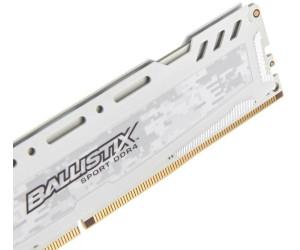 [idealo.de / notebooksbilliger.de] 16GB Crucial Ballistix Sport BLS16G4D240FSC RAM