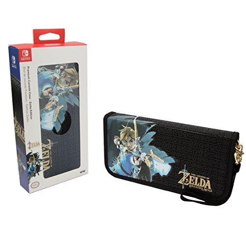 Nintendo Switch The Legend of Zelda: Breath of the Wild Premium Tragetasche für Konsole und Spiele für 12,09€ (Amazon ES)