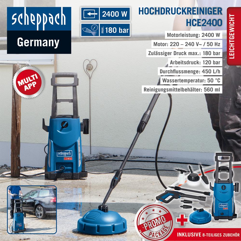 Hochdruckreiniger HCE2400 für 96,03€ statt 119€ [NORMA24]