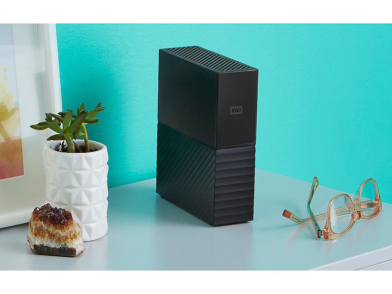 Western Digital My Book USB 3.0 6TB (WDBBGB0060HBK) Bestpreis bei PEARL