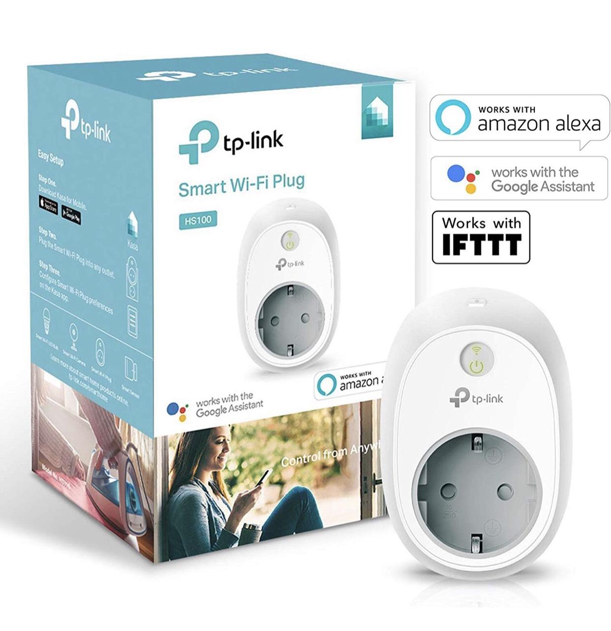 (Nur ausgewählte Kunden!) TP-Link HS100 (EU) Kasa Smart WLAN Steckdose, funktioniert mit Amazon Alexa