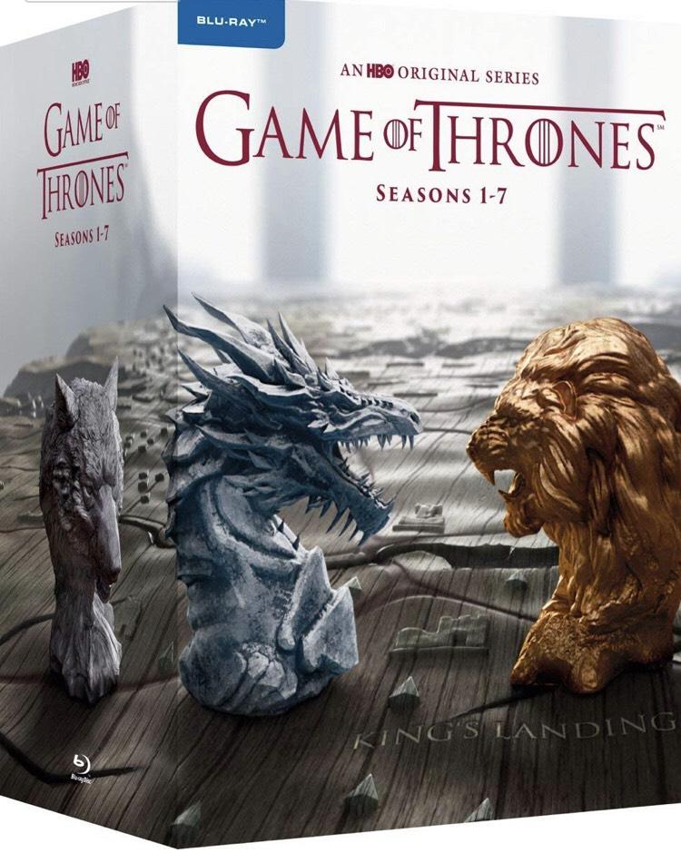 Game of Thrones: Die kompletten Staffeln 1-7 (EU Import mit Deutscher Sprache) Blu-ray