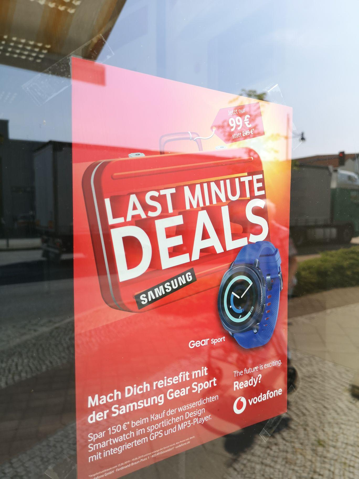 Samsung Gear Sport [Vodafone-Shops]
