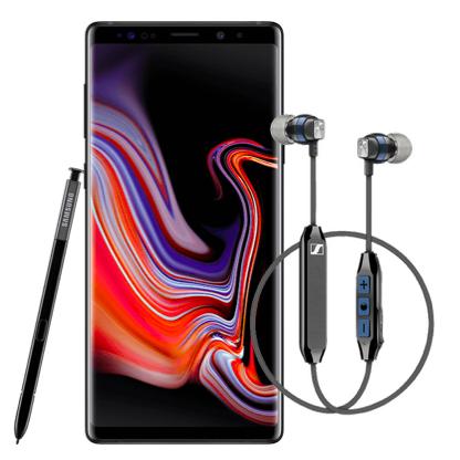 Samsung Galaxy Note 9 (128 GB) für 49€ ZZ im o2 Free M Boost (20 GB LTE, o2-Connect) für mtl. 34,99€ inkl. Sennheiser CX6 (Wert 75€)