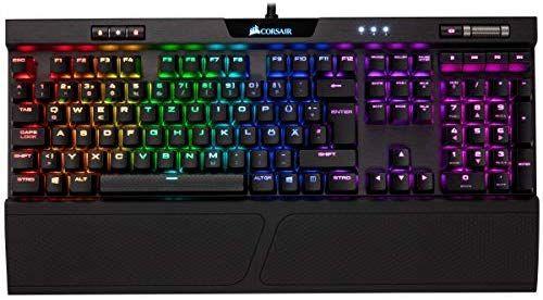 Corsair K70 MK.2 RGB Gaming Tastatur mit MX Speed Switches