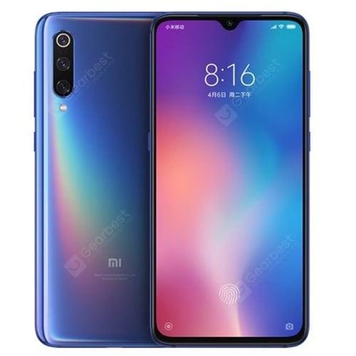 Xiaomi Mi 9 4G Smartphone Globale Version 128 GB ROM - Blau