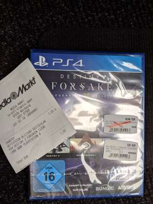 [Media Markt Würzburg] Destiny 2 Forsaken Legendary Collection (PS4)