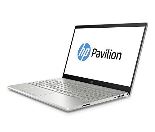 """HP Pavilion 15-cs0201ng Mineral Silver/Natural Silver (15.6"""", IPS, FHD, i3-8130U, 8GB RAM, 256GB M.2 PCIe SSD, USB-C, Win10, 1.93kg)"""