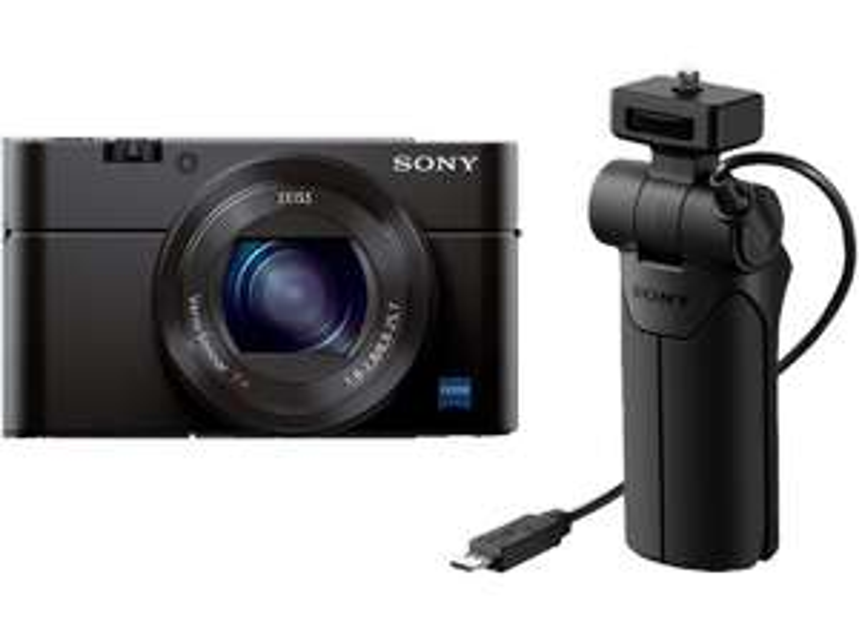 [Abholung] Sony Cyber-shot DSC-RX100 Mark III (20.1MP, Exmor R Sensor, 3-fach opt. Zoom, WLAN, NFC) +  Sony VCT-SGR1 Handgriff