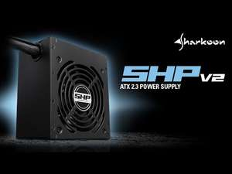 Sharkoon SHP550 V2 550W 80+ Netzteil für 34,99€ (NBB)