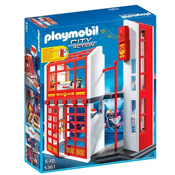 (Marktabholung) PLAYMOBIL - 5361 Feuerwehrstation mit Alarm oder Online für 28,94€ inkl Versand